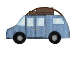 Auto mit Gepäck / car 0912
