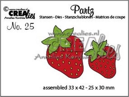 Crealies Partz Nr.25 Erdbeeren CLPartz25