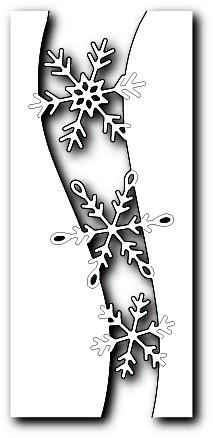 Memorybox Stanzform Schneeflocken- Tunnel / Snowflake Swell 99828