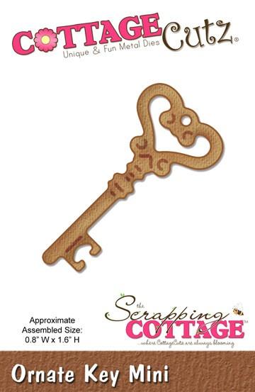 Schlüssel Ornate Mini / ornate key mini SC CC-Mini-099