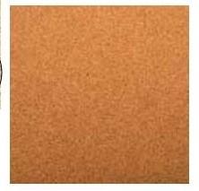 Kork-Blatt 30,5 cm x 30,5 cm 13020034