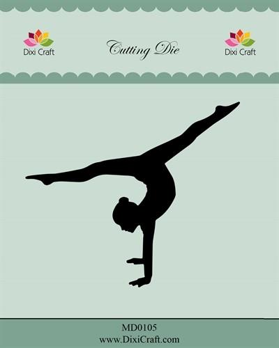 Dixi Craft Stanzform Turnerin / Gymnast MD0105