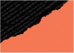Cardstock Black magic 2-farbig ORANGE-SCHWARZ Shazam GX-BM240-12