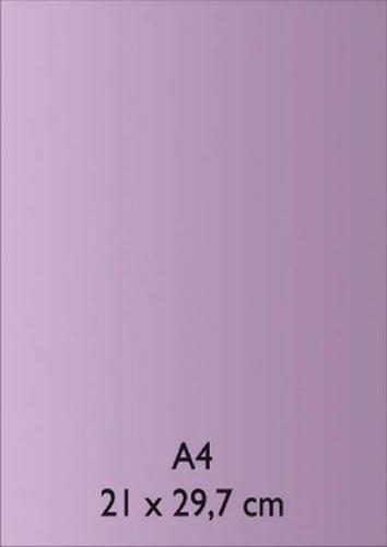 Pearl Papier A 4 HELL - LILA mit Klebefolie
