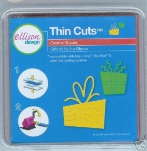 Ellison Designs Thin Cuts Stanzform Geschenke # 2 / gifts # 2 22559
