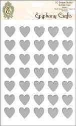 Epiphany Epoxysticker Herz 1,4 cm Clear Heart 14 SSA-09