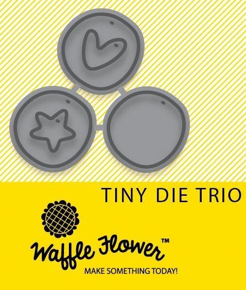 Waffle Flower Crafts Stanzform 3-er Kreise Mini / Tiny Trio WF310017