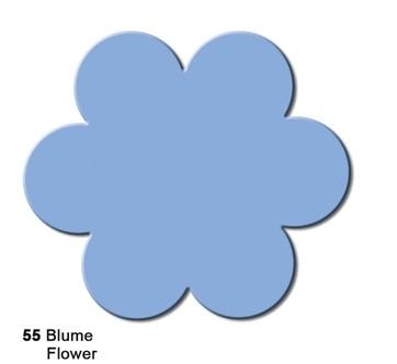 Motivstanzer Maxi Blume ( hellblau ) UR 1945 00 55