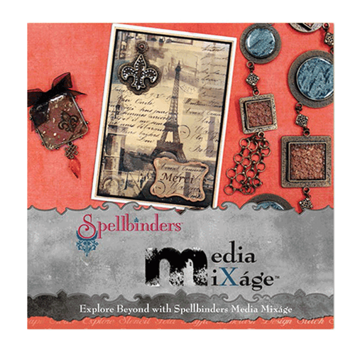 Spellbinders Buch Explore Beyond with Spellbinders Media Mixáge