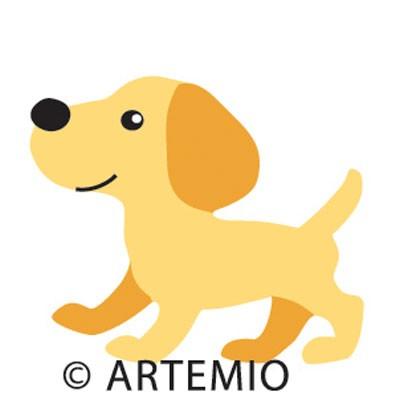 Artemio Happycut Stanzform 5,2 x 5,2 cm Hund /dog # 1 18020023
