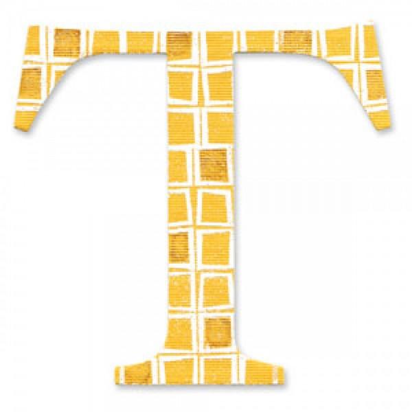 """Sizzix BIGZ Stanzform Buchstabe """" T """" Alphabet Sassy Serif 654735"""