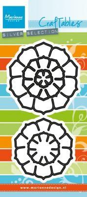 Marianne D Craftables Blumen / Succulent round CR1430