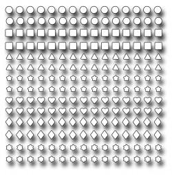 Frantic Stampers Stanzform Konfetti / Confetti Confetti FRA-DIE-10178