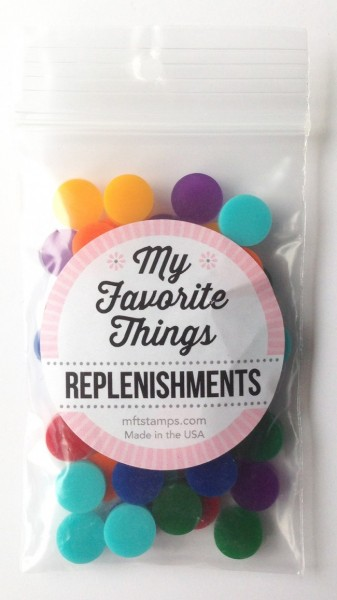 My Favorite Things Confetti bunt / Replenishments Gumball Mix Dimensional Circle Confetti SUPPLY-193