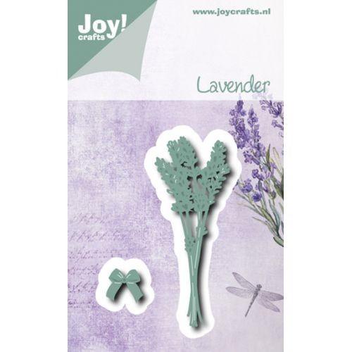 Joycrafts Stanz- u. Prägeform Lavendel u. Schleife 6002/0541