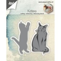 Joycrafts Stanz-u. Prägeform Katzen / Kittens 6002/0694