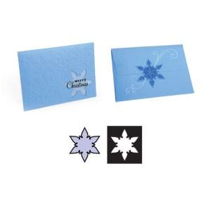 Movers & Shapers Einsatz Schneeflocke / snowflake 656 447