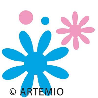 Artemio Happycut Stanzform 5,2 x 5,2 cm Blumen # 9/flower 18020006