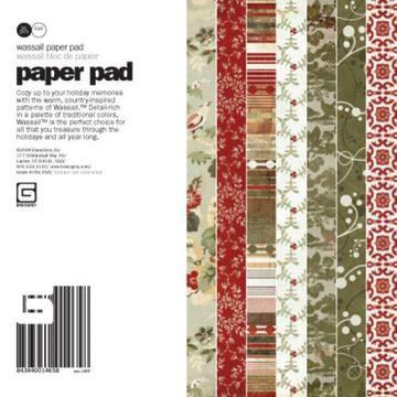 Paper Pad Wassail 15,2 cm x 15,2 cm WAS-1465