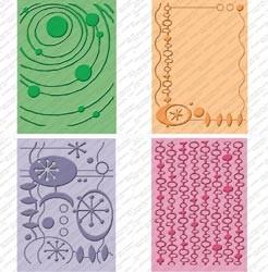Cuttlebug Prägefolder-Set 4-er Coolio 2000568