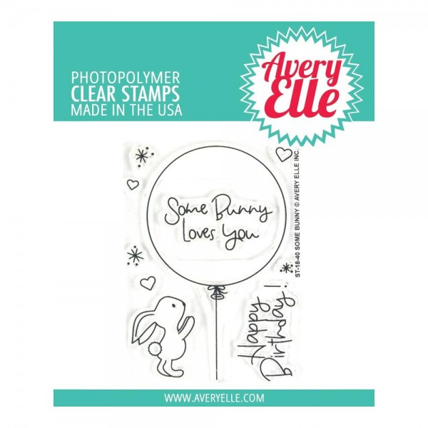 Avery Elle Clear Stempel Some Bunny AE-18-40