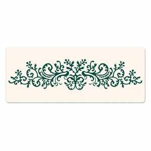Sizzix Letterpress Platte Border Organic Flourish 657313