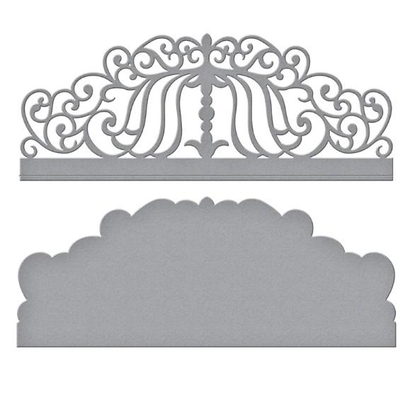 Spellbinders Stanz-u. Prägeform Candlewick Colonnade Border S3-382