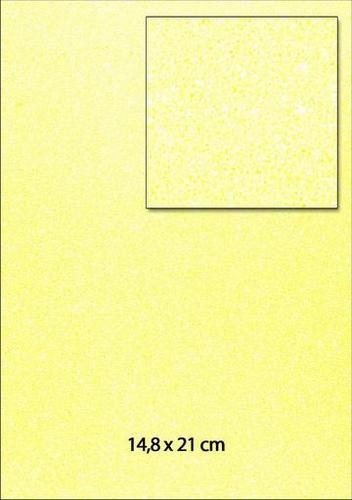 Glitterpapier A 5 G E L B 653000/0050