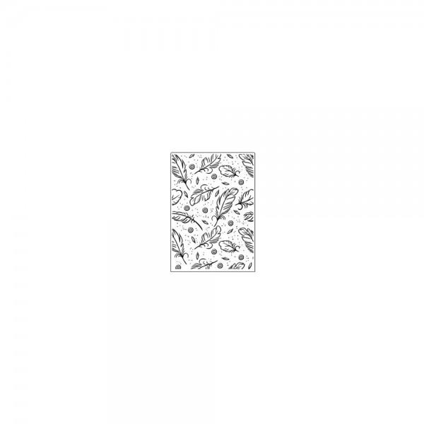 Crafts Too Prägefolder Federn / Feathers CTFD3102