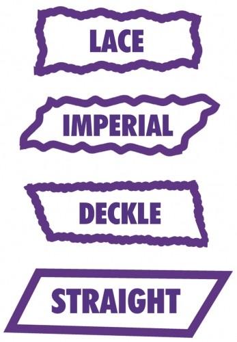 Clevercut 5 in 1 Austauschmesser Lace, Imperial, Deckle u. Strai