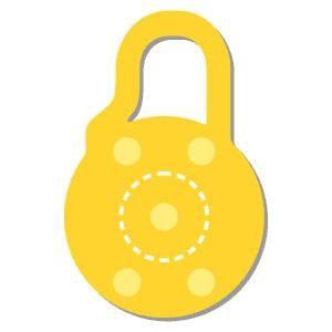 Sicherheitsschloß # 2 / lovelock # 2 ZHW 122