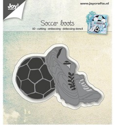 Joycrafts Stanzform Fußball u. Fußballschuhe / Soccer Boots 6002/0919