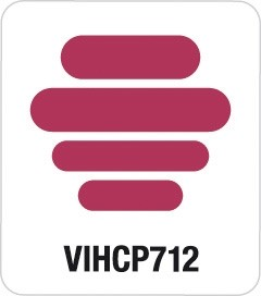 Artemio Motivstanzer Giant Retro Word Tags VIHCP712 ( rosa )