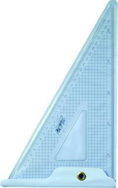 Schneidelineal Dreieck transparent 30 cm x 29 x 16 cm