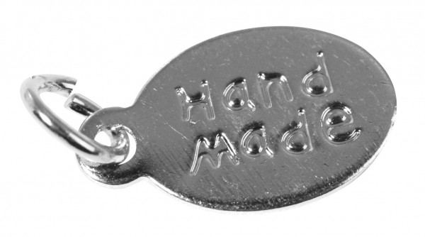 "Anhänger oval SILBER "" handmade "" 2156921"