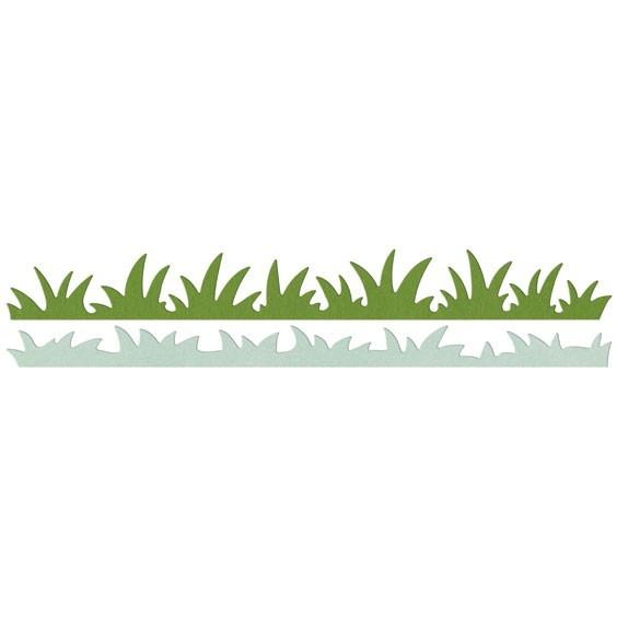 Lifestylecrafts Stanz-u. Prägeformen Border Gras/Grass Edges DC0