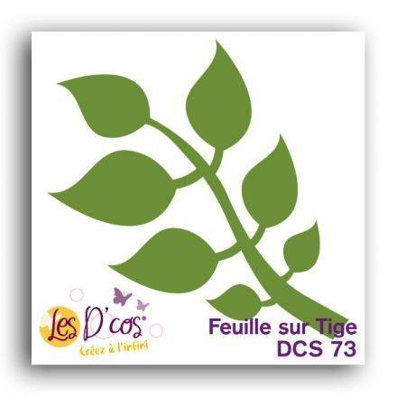 Toga Stanzform Stengel mit Blätter / Feuille sur Tige DCS73