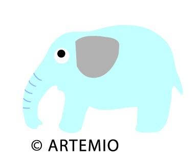 Artemio Happycut Stanzform 5,2 x 7,2 cm Elefant # 2 18021001