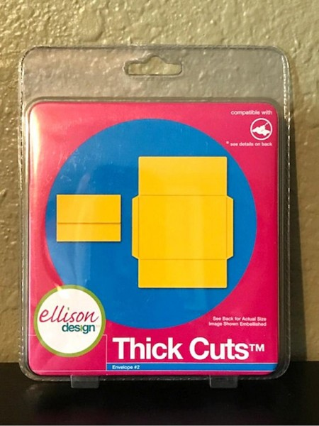 Ellison Design Thick Cuts Stanzform Umschlag # 2 / envelope # 2 22213