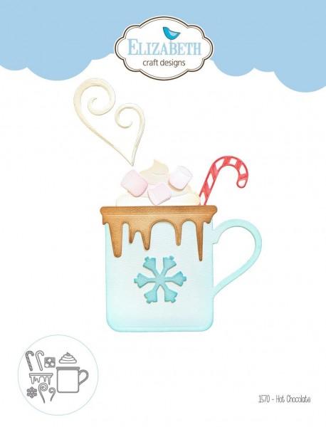 Elizabeth Craft Stanzform Tasse heiße Schokolade / Hot Chocolate 1570