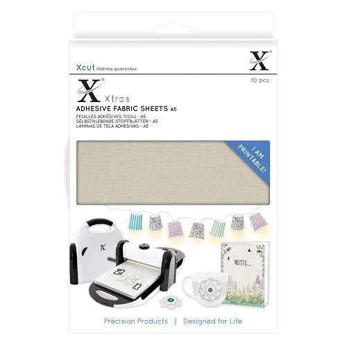 XCut A 5 Stoff selbstklebend u. bedruckbar ( 10 x ) XCU 174404