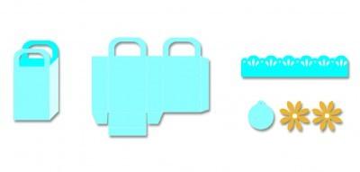 Efco Double Do Stanzform XL Tasche gerade 4250721